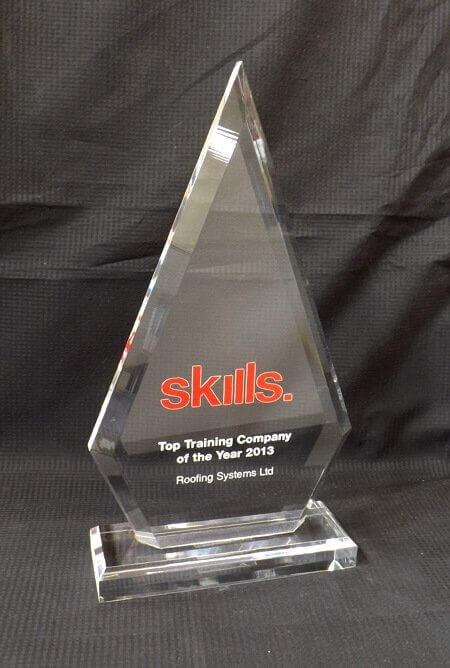 Acrylic diamond trophy