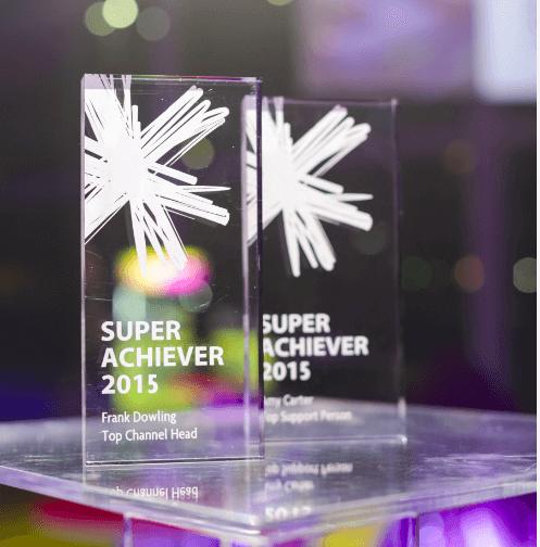 Acrylic block award