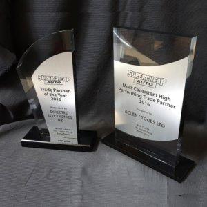 Aluminium trophies