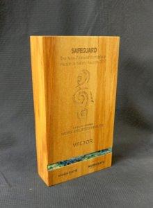Rimu wood trophy