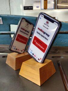 Custom phone trophy